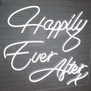 Wedding Neon Sign Hire Rental