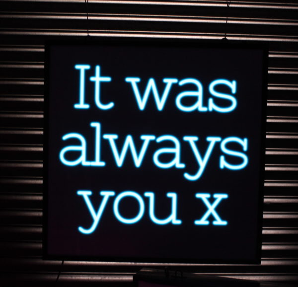 It was always you Lightbox hire